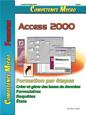 Booklet's front page - Access 2000 - Permis PC