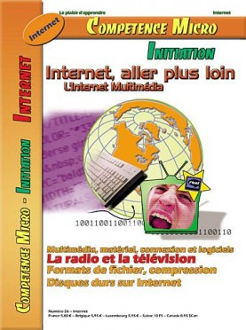 Booklet's front page - Internet aller plus loin