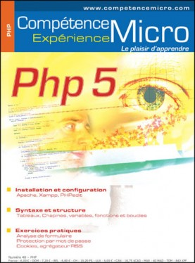 Booklet's front page - PHP 5