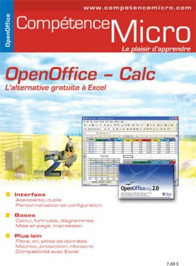Booklet's front page - OpenOffice Calc, l'alternative gratuite à Excel
