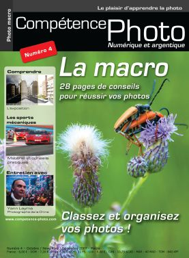 Booklet's front page - Comp�tence Photo 4 : la macrophotographie