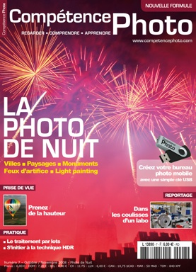 Booklet's front page - Comp�tence Photo 7 : La photo de nuit
