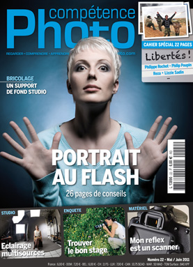 Booklet's front page - Comp�tence Photo 22 : Portrait au flash