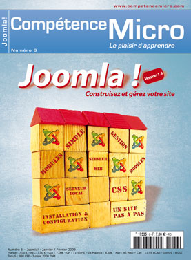 Booklet's front page - Joomla !