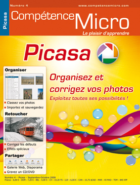Booklet's front page - Picasa